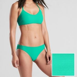 Athleta Cloudbreak Rib Strappy Bikini set